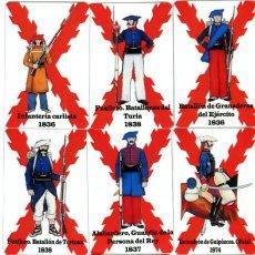 Collectionnisme Calendriers: NOVEDAD COLECCION DE 20 CALENDARIOS BOLSILLO CARLISTA (CARLISMO, REQUETÉ) AÑO 2021. Lote 281774273
