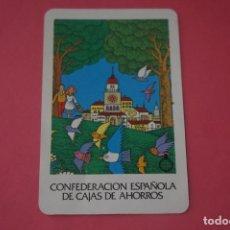 Colecionismo Calendários: CALENDARIO DE BOLSILLO FOURNIER CONFEDERACION ESPAÑOLA CAJAS DE AHORRO AÑO 1986 LOTE 14 MIRAR FOTOS. Lote 286263233
