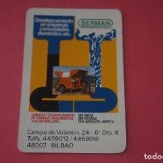Colecionismo Calendários: CALENDARIO DE BOLSILLO FOURNIER SERMAN AÑO 1986 LOTE 14 MIRAR FOTOS. Lote 286263513