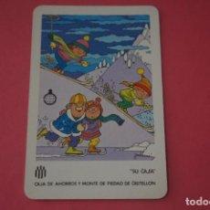 Colecionismo Calendários: CALENDARIO DE BOLSILLO FOURNIER CAJA DE AHORROS DE CASTELLON AÑO 1986 LOTE 14 MIRAR FOTOS. Lote 286265088