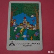 Colecionismo Calendários: CALENDARIO DE BOLSILLO FOURNIER CAJA DE AHORROS DE CORDOBA AÑO 1986 LOTE 14 MIRAR FOTOS. Lote 286266163