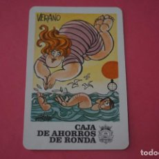 Colecionismo Calendários: CALENDARIO DE BOLSILLO FOURNIER CAJA DE AHORROS DE RONDA AÑO 1985 LOTE 14 MIRAR FOTOS. Lote 286266518