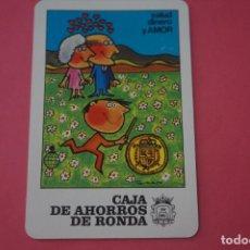 Colecionismo Calendários: CALENDARIO DE BOLSILLO FOURNIER CAJA DE AHORROS DE RONDA AÑO 1984 LOTE 14 MIRAR FOTOS. Lote 286270693