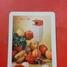 Collezionismo Calendari: CALENDARIO H FOURNIER FOIX 1972. ALIMENTACION COMIDA. Lote 286293538