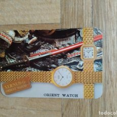 Coleccionismo Calendarios: CALENDARIO PUBLICITARIO RELOJ ORIENT WATCH. XERNUS. ORIENT PENINSULAR. AÑO 1993. VER FOTOS. Lote 286308743