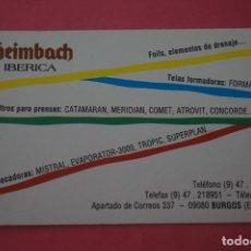 Collezionismo Calendari: CALENDARIO DE BOLSILLO FOURNIER HEIMBACH IBERICA AÑO 1992 LOTE 15 MIRAR FOTOS. Lote 286452323