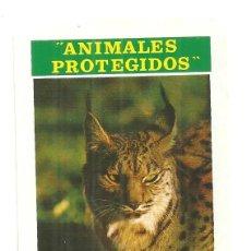 Coleccionismo Calendarios: C3.- ANIMALES PROTEGIDOS-LINCE- ICONA-CALENDARIO FOURNIER PARA 1974. Lote 286507023