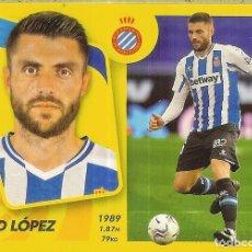 Colecionismo Calendários: CROMO ESTE PANINI 2021 - 22 (21 22) - Nº 11 - DAVID LÓPEZ - ESPANYOL. Lote 287602023