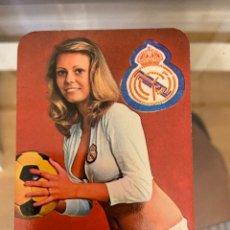 Coleccionismo Calendarios: CALENDARIO REAL MADRID BUEN ESTADO 1977. Lote 287648018