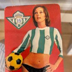 Coleccionismo Calendarios: CALENDARIO BETIS BALOMPIE 1977 BUEN ESTADO. Lote 287648163