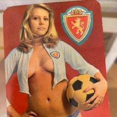 Coleccionismo Calendarios: CALENDARIO REAL ZARAGOZA 1977 BUEN ESTADO. Lote 287648318