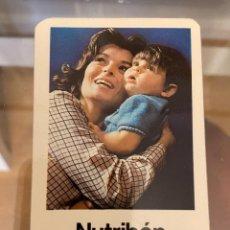 Coleccionismo Calendarios: CALENDARIO NUTRIBEN 1981 BUEN ESTADO. Lote 287649613