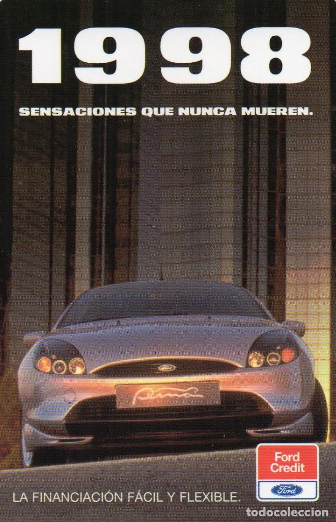 CALENDARIO DE PUBLICIDAD 1998 - FORD CREDIT (Coleccionismo - Calendarios)