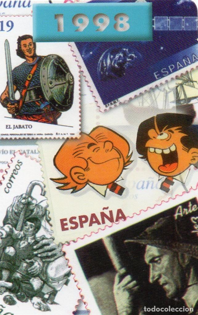 CALENDARIO DE PUBLICIDAD 1998 - CORREOS (Coleccionismo - Calendarios)