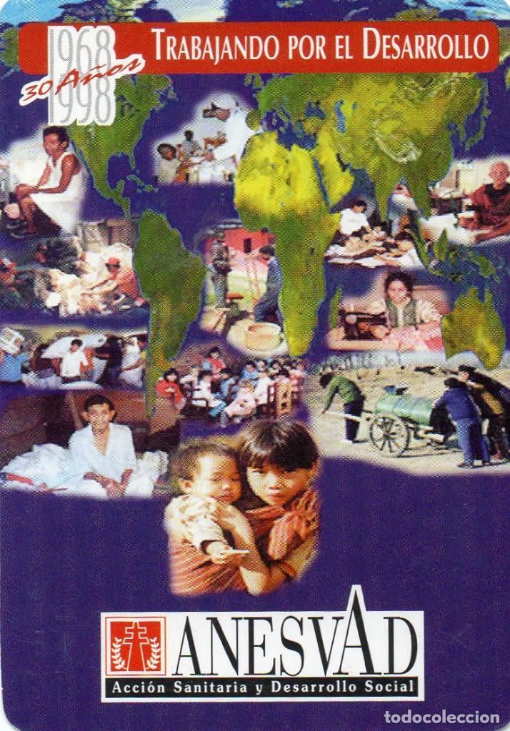 CALENDARIO DE PUBLICIDAD 1998 - ANESVAD (Coleccionismo - Calendarios)