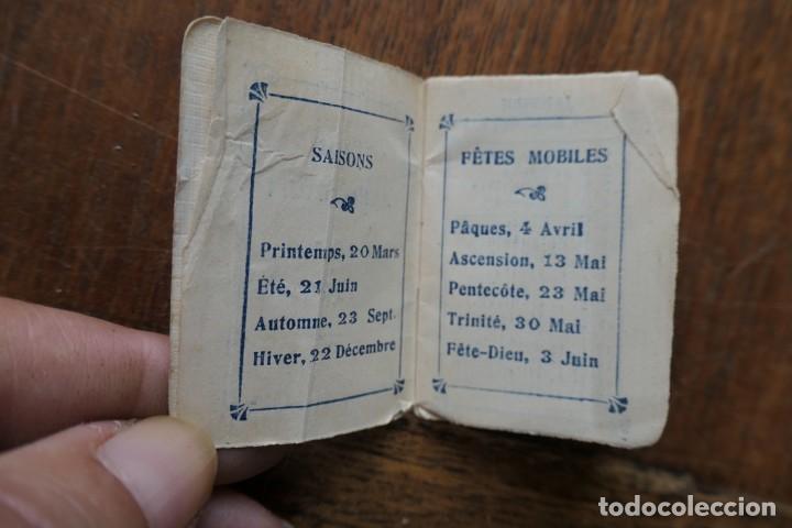 Coleccionismo Calendarios: PETIT ALMANACH 1920-NOUVELLE LIBRAIRIE FRANÇAISE-LOUIS BERGÉ ET KIOSQUE FRANÇAIS-5 X 3,5 CM - Foto 3 - 287892133