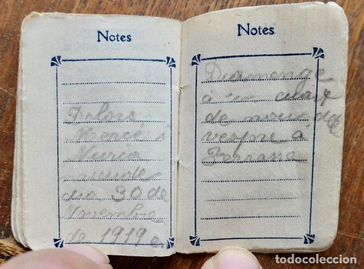 Coleccionismo Calendarios: PETIT ALMANACH 1920-NOUVELLE LIBRAIRIE FRANÇAISE-LOUIS BERGÉ ET KIOSQUE FRANÇAIS-5 X 3,5 CM - Foto 6 - 287892133