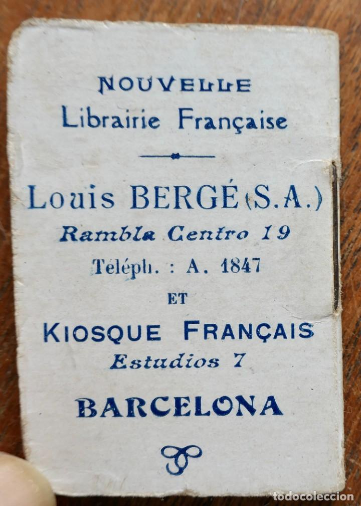 Coleccionismo Calendarios: PETIT ALMANACH 1920-NOUVELLE LIBRAIRIE FRANÇAISE-LOUIS BERGÉ ET KIOSQUE FRANÇAIS-5 X 3,5 CM - Foto 9 - 287892133