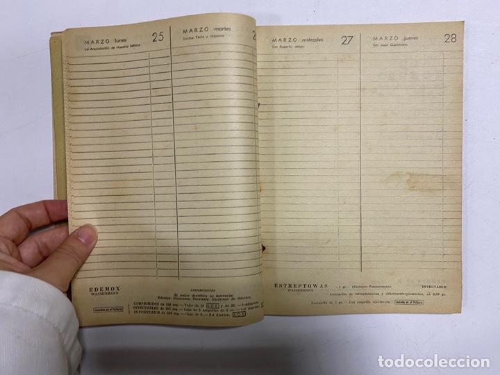 Coleccionismo Calendarios: AGENDA WASSERMANN AÑO 1963. ALGUNAS PAGINAS PINTADAS. - Foto 5 - 287978798