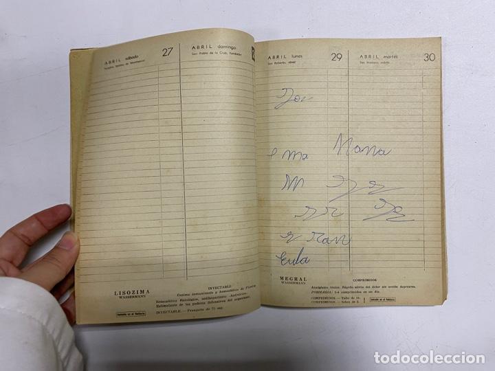 Coleccionismo Calendarios: AGENDA WASSERMANN AÑO 1963. ALGUNAS PAGINAS PINTADAS. - Foto 6 - 287978798