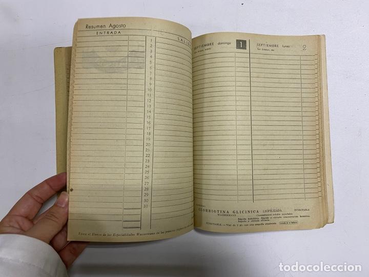 Coleccionismo Calendarios: AGENDA WASSERMANN AÑO 1963. ALGUNAS PAGINAS PINTADAS. - Foto 7 - 287978798