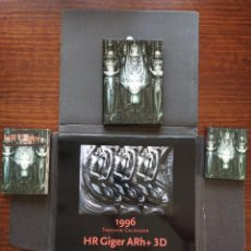 Coleccionismo Calendarios: H R GIGER CALENDARIO 1996 + 30 POSTALES + AGENDA + LIBRO DE NOTAS. Lote 287991978