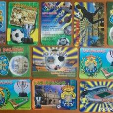 Coleccionismo Calendarios: LOTE 11 CALENDARIOS UNIÓN DEPORTIVA LAS PALMAS. 2002 AL 2013.. Lote 288006138