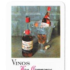 Colecionismo Calendários: CALENDARIO FOURNIER 1970 VINOS LAS CAMPANAS. Lote 288071253