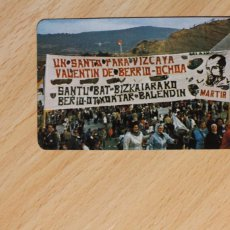 Coleccionismo Calendarios: CALENDARIO FOURNIER. VALENTIN DE BERRIO OCHOA. AÑO 1984. PP. DOMINICOS. BILBAO.. Lote 288080103