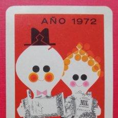Coleccionismo Calendarios: CALENDARIO FOURNIER PUBLICIDAD CAJA AHORROS LA INMACULADA 1972. Lote 288171893