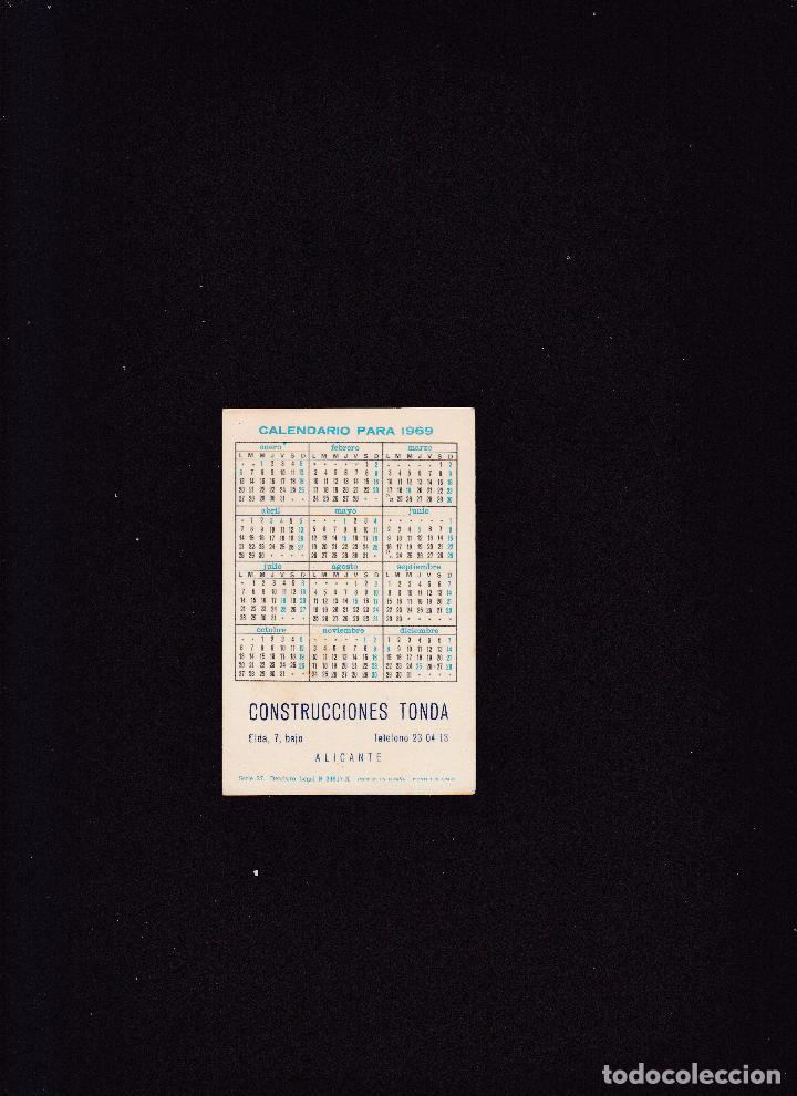 Coleccionismo Calendarios: CALENDARIO PARA 1969 - CONSTRUCCIONES TONDA / ALICANTE - Foto 2 - 288189058