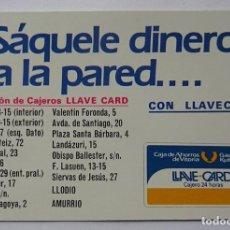 Coleccionismo Calendarios: CALENDARIO DE FOURNIER , LLAVECARD, AÑO 1985. Lote 288489623