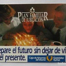 Coleccionismo Calendarios: CALENDARIO DE FOURNIER , CAJA DE AHORROS DE VITORIA, AÑO 1985. Lote 288489963