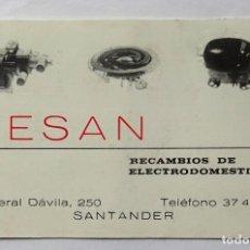 Coleccionismo Calendarios: CALENDARIO DE FOURNIER , RESAN, AÑO 1986. Lote 288490053