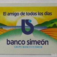 Coleccionismo Calendarios: CALENDARIO DE FOURNIER , BANCO SIMEON, AÑO 1987. Lote 288490248