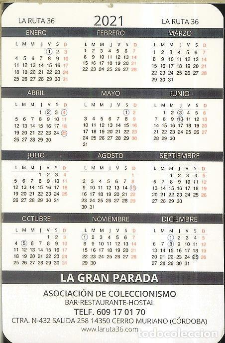 Coleccionismo Calendarios: CALENDARIO PUBLICIDAD - 2021 - FRANCO - CERRO MURIANO - Foto 2 - 288570628