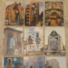 Coleccionismo Calendarios: -78755 9 CALENDARIOS PINTURAS ARTE URBANO EN 3D, AÑO 2020, EMISIÓN LIMITADA. Lote 288577283