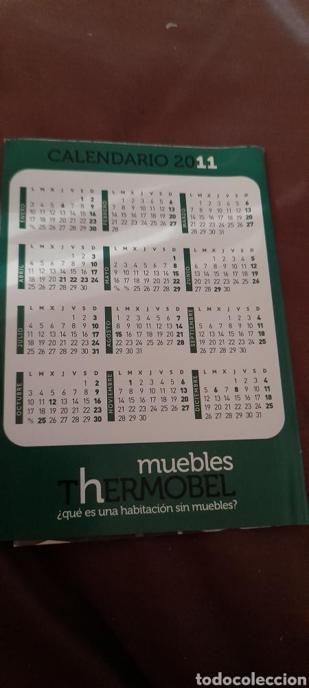 Coleccionismo Calendarios: Calendario de 2011 de Muebles Thermobel. Polígono El Cerro, Segovia - Foto 2 - 288578423