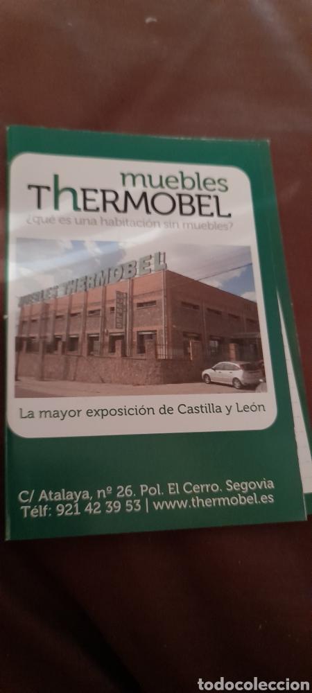 CALENDARIO DE 2011 DE MUEBLES THERMOBEL. POLÍGONO EL CERRO, SEGOVIA (Coleccionismo - Calendarios)