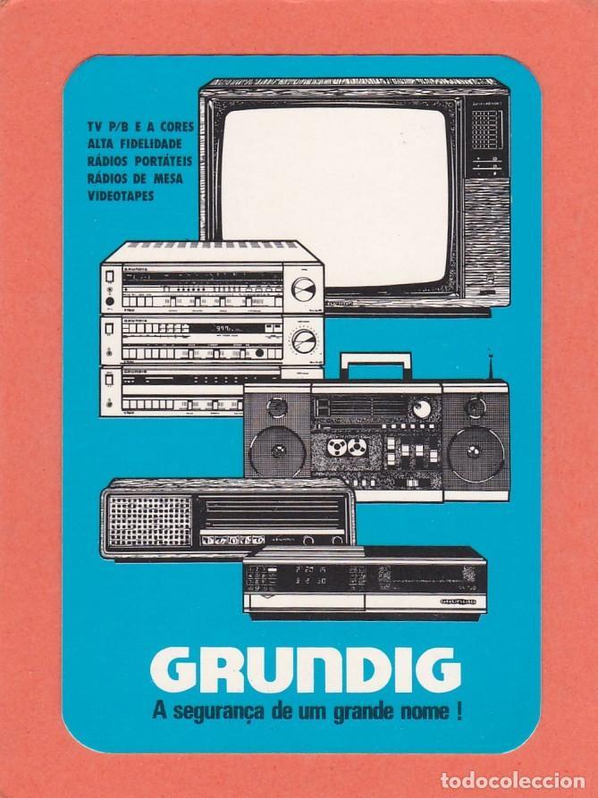 CALENDARIO PORTUGAL 1985 - GRUNDIG. TELEVISION - ALTA FIDELIDAD - RADIO - VIDEO (Coleccionismo - Calendarios)