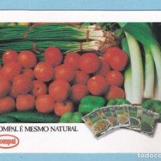 Coleccionismo Calendarios: CALENDARIO PORTUGAL 1992 - COMPAL. Lote 288580908