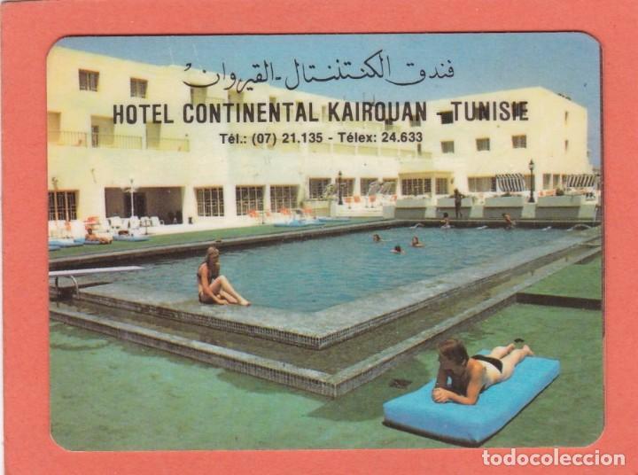 CALENDARIO TUNEZ 1984 - HOTEL CONTINENTAL KAIROUAN (Coleccionismo - Calendarios)