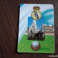 Coleccionismo Calendarios: CALENDARIO DE SERIE DE FUTBOL, BO 701, REAL MADRID AÑO 1996. Lote 288597838