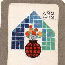 Coleccionismo Calendarios: CALENDARIO DE H. FOURNIER 1972 - CAJA DE AHORROS DE MADRID. Lote 289756518