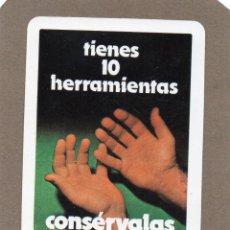 Coleccionismo Calendarios: CALENDARIO DE H. FOURNIER 1983 - LEONESA DE INDUSTRIA. Lote 289758418