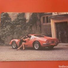 Coleccionismo Calendarios: CALENDARIO CHICA EROTICO EN COCHE ANTIGUO 1992. SERIE DLB MP 45. Lote 289766743
