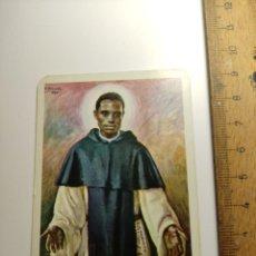 Coleccionismo Calendarios: 1968 CALENDARIO FOURNIER EDITORIAL POMAIRE RELIGIOSO SAN MARTIN DE PORRES. Lote 292300663