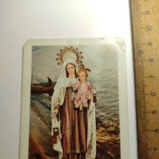 Coleccionismo Calendarios: 1968 CALENDARIO FOURNIER SERIE RELIGIOSA N°15 VIRGEN DEL CARMEN. Lote 292301118