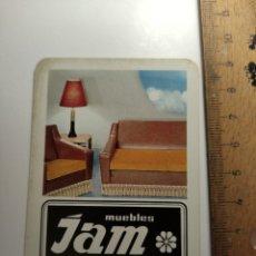 Coleccionismo Calendarios: 1968 CALENDARIO FOURNIER JAM MUEBLES BARCELONA. Lote 292302993