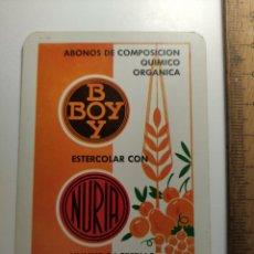Coleccionismo Calendarios: 1968 CALENDARIO FOURNIER ABONOS COMPOSICION BOY NURIA BARCELONA. Lote 292303398